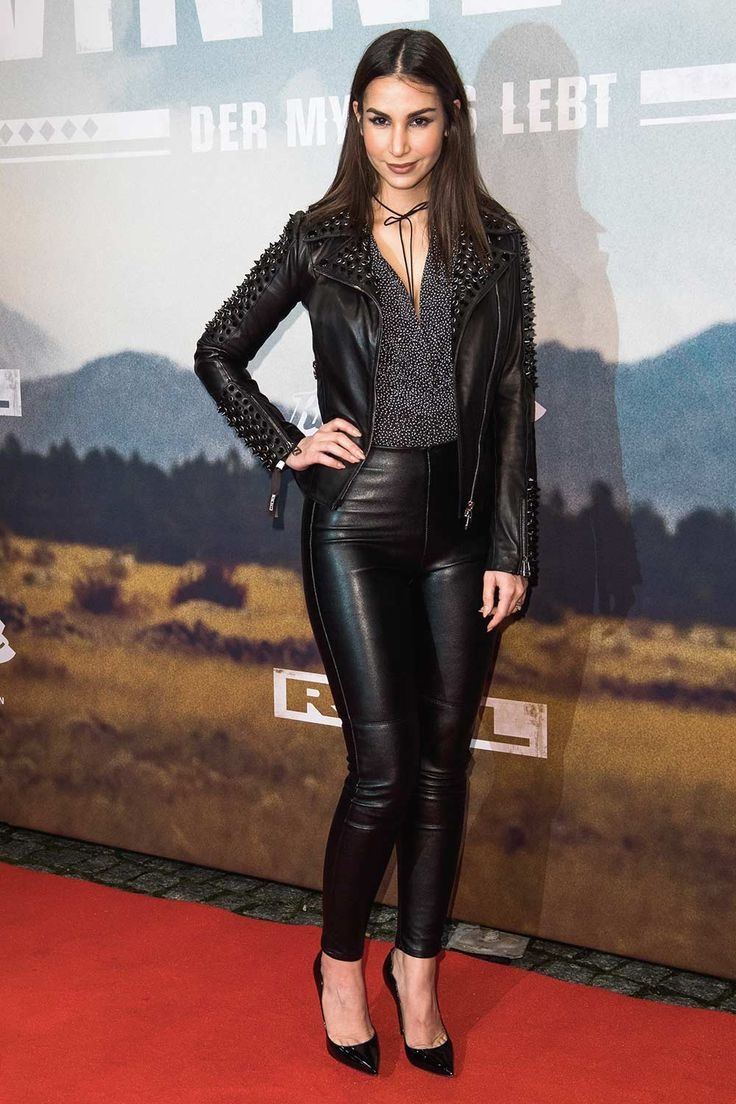 Sila Sahin attends the Winnetou Eine neue Welt premiere at Delphi on December 14, 2016 in Berlin, Germany.