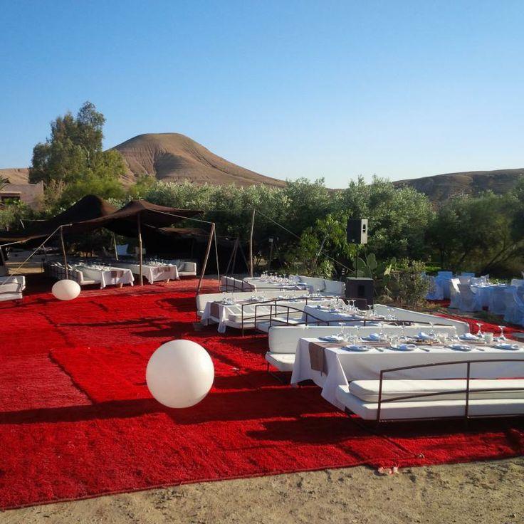#Mediterraneanwedding in #Marrakech... the desert of Agafay: once seen, never forgotten