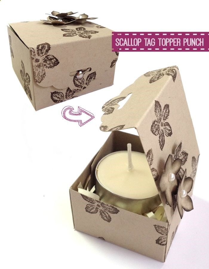 Scallop Tag Topper Punch, by Stampin Up!