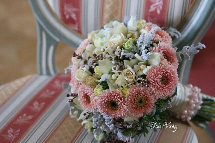 #wedding #flowers #bouquett #romantic #pink #ekru