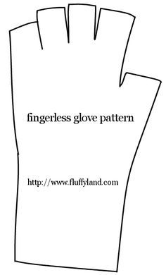fingerless gloves sewing pattern