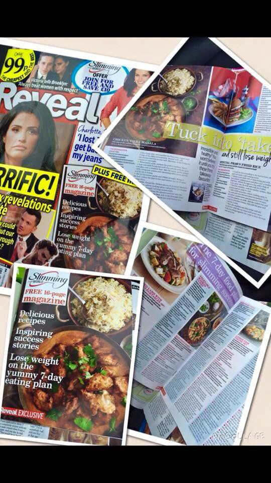 New Slimming World Free Membership Offer in this weeks Reveal magazine.