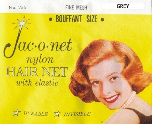 Jac-o-net Nylon Hair Net Bouffant With Elastic * Grey by Jac-O-Net. $0.97. Color: GREY. Size: 255 BOUFFANT. Jac-O-Net Nylon Hair Net with Elastic. Durable * Invisible Fine Mesh. 1 net per package. * Jac-O-Net Nylon Hair Net with Elastic* Color: GREY* Size: 255 BOUFFANT* Durable* Invisible Fine Mesh* 1 net per package* Manufacture's item # 255GRY* ASIN: B0001K0PQS* UPC: 029461255606