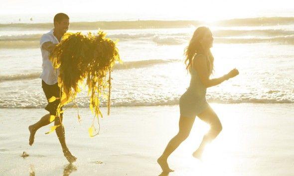 Tone It Up Proposal, beach engagement