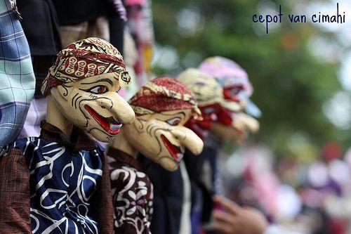 Sundanese traditional puppet