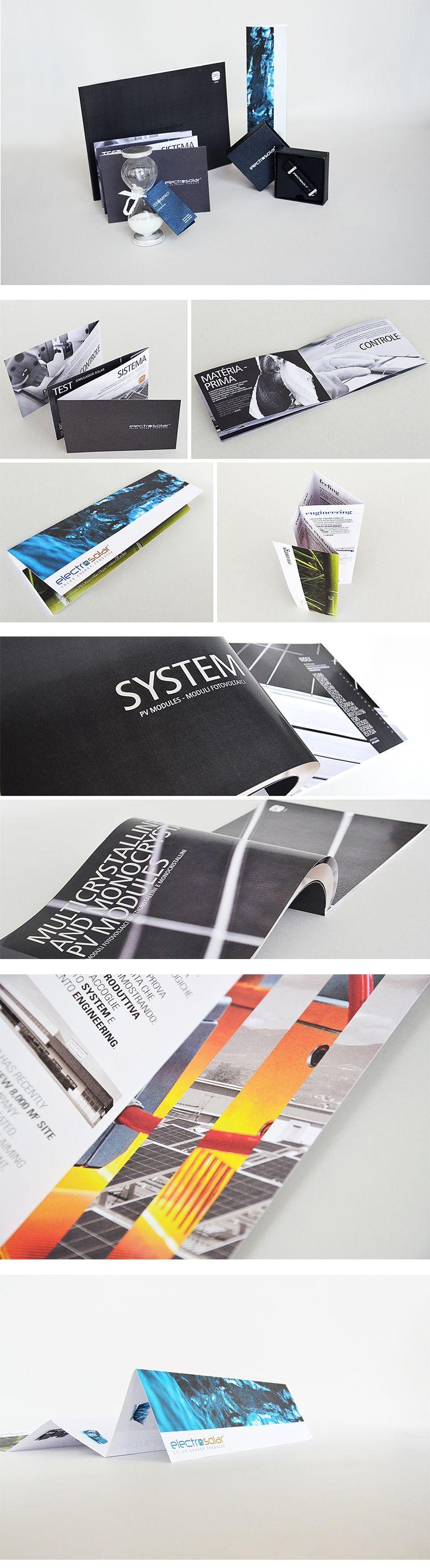 Electrosolar cataloghi e leaflet, un progetto #effADV - Electrosolar #printing, effADV project - #catalogue #print #leaflet