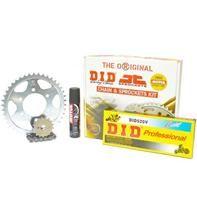 """Σετ Γρανάζια-Αλυσίδα κινήσεως DID-JT & σπρέι αλυσίδας MOTUL για Honda CBR 250R '11-13 """"Μαύρη Αλυσίδα O 'ring (V)"""""""