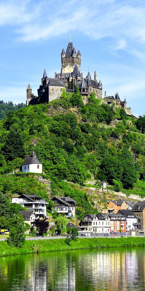 Reichsburg Cochem castle, Germany.