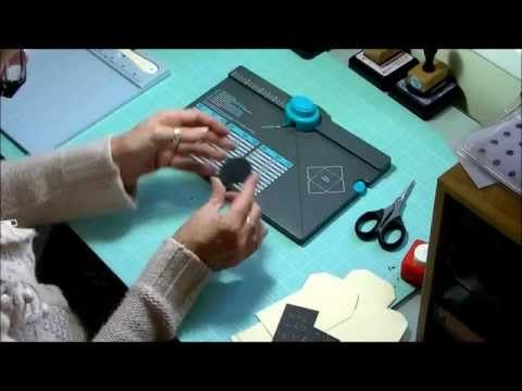 ▶ We R Memory Keepers Envelope Punch Board, Tags, Tabs and Pockets tutorial. - YouTube