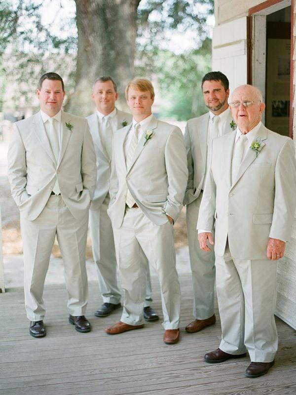 Charleston Wedding By Virgil Bunao Grey TuxTraditional