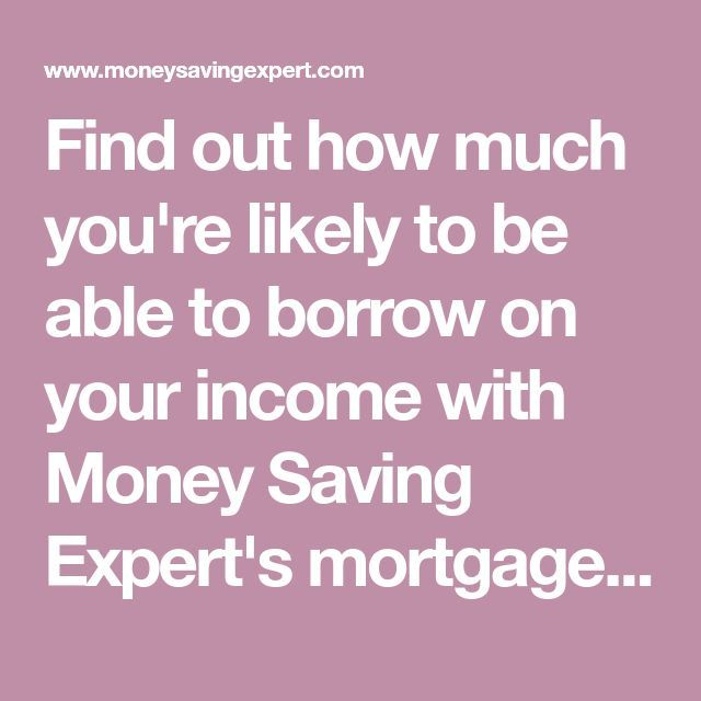 Find Out How Much You Re Likely To Be Able To Borrow On Your Income With Mon Mortgage Amortization Calculator Mortgage Payment Calculator Mortgage Amortization