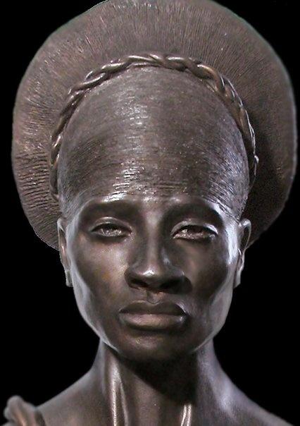 """Mangbetu Woman"" by Toni Scott  http://toniscottart.com/toniscott.com/Home.html"