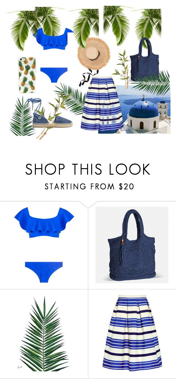 """Summer Party"" by carlotta-calsolaro ❤ liked on Polyvore featuring Lisa Marie Fernandez, Avenue, Nika, Paul & Joe Sister and MICHAEL Michael Kors"
