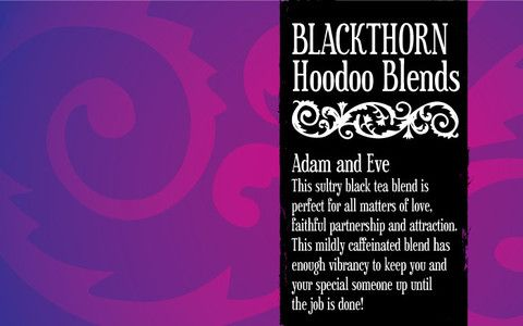 Adam and Eve Tea – Blackthorn Hoodoo Blends