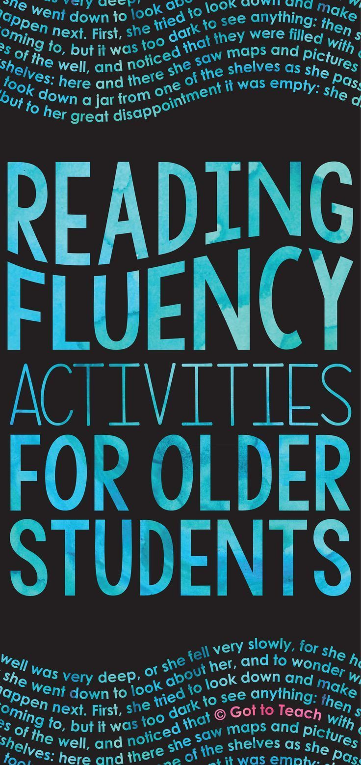 studies about student adult reading in fluency