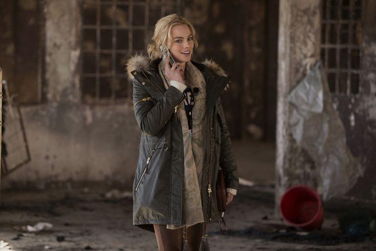 Margot Robbie as Tanya Vanderpoel in Whiskey Tango Foxtrot.