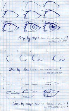 Something like tutorial by Myszorek114.deviantart.com on @DeviantArt