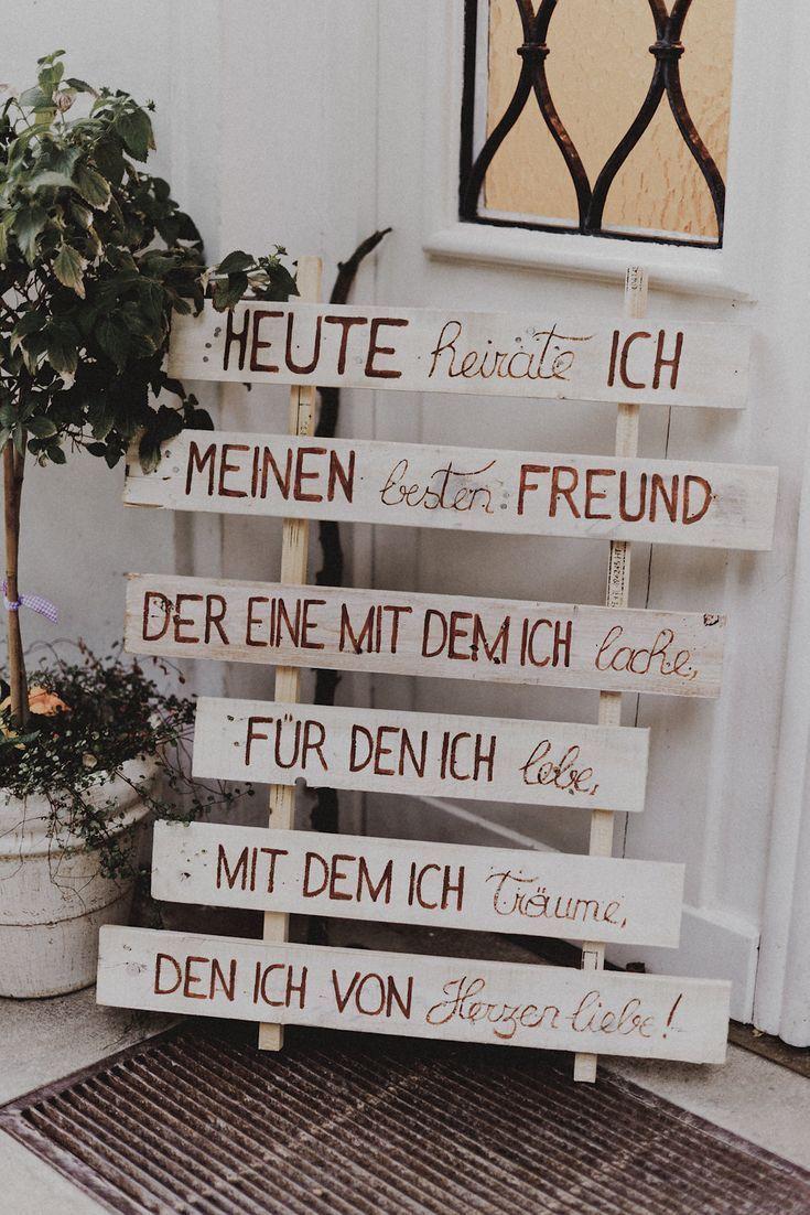 unglaublich groß Romanntische DIY-Hochzeit am Attersee in Österreich – Mrs. Bridal – Dekoration Hochzeit