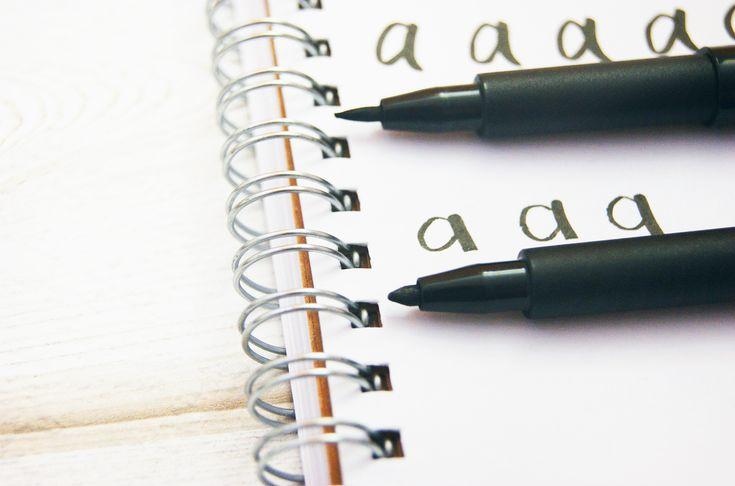 Handlettering Tipps Part 1