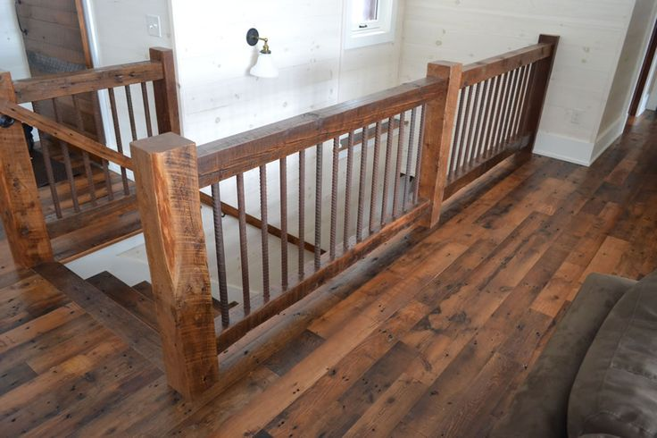 Reclaimed Timber Railing Railings In 2019 Loft Railing