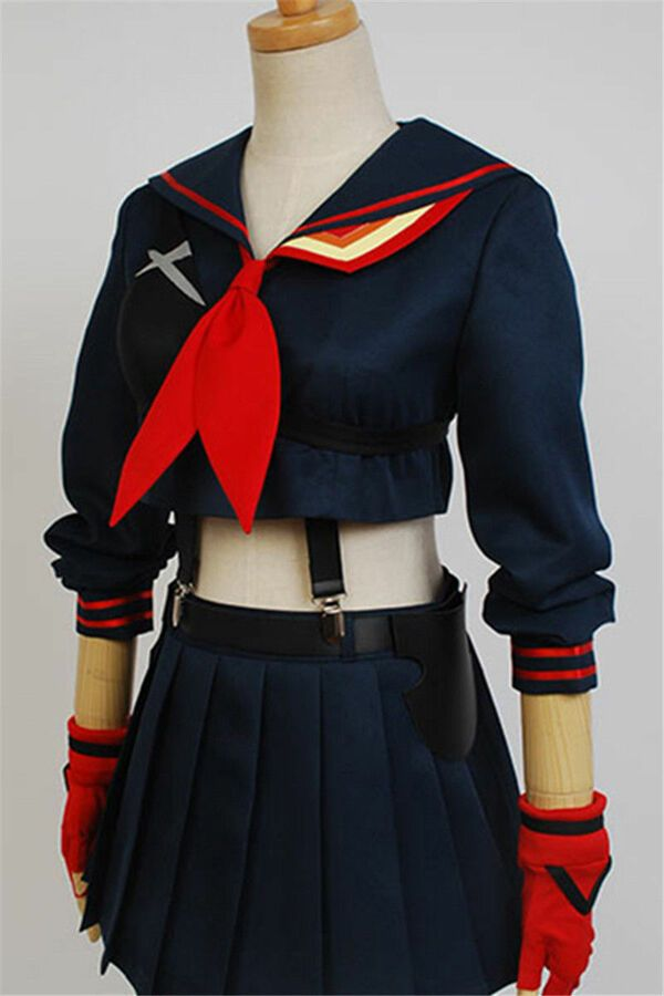 Kill la Kill Matoi Ryuko Senketsu Sailor Uniform Cosplay Costume Custom-made