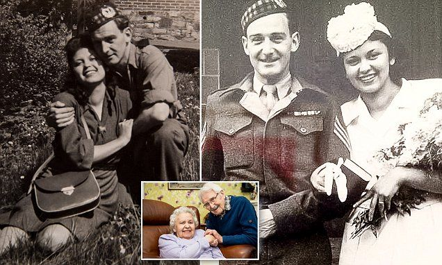 Soldier Who Rescued Woman From Auschwitz Celebrate Valentines Day