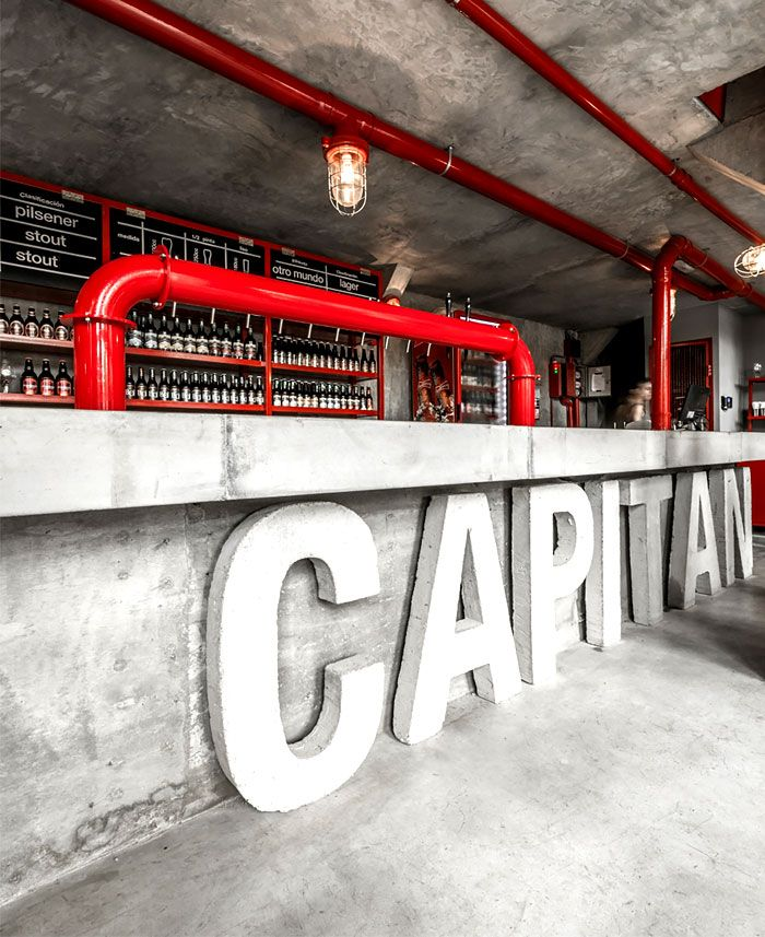 Capitan Central Brewery Vital and Memorable Dining Space urban industrial aesthetics restaurant 1