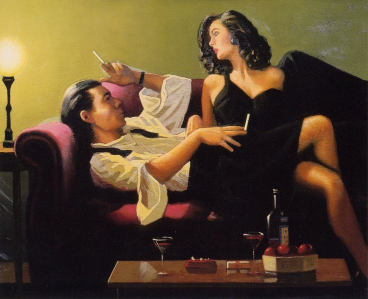 Jack Vettriano - After Midnight