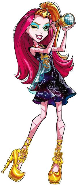 All about Monster High: Gigi Grant. Freaky Field Trip. Profile art