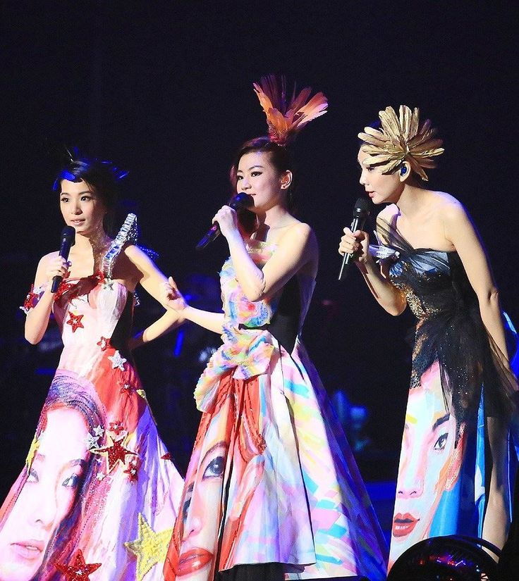 Taiwanese girl group S.H.E heated up the Mercedes-Benz Arena at their '2gether 4ever World Tour' concert in Shanghai, China, July 12, 2014