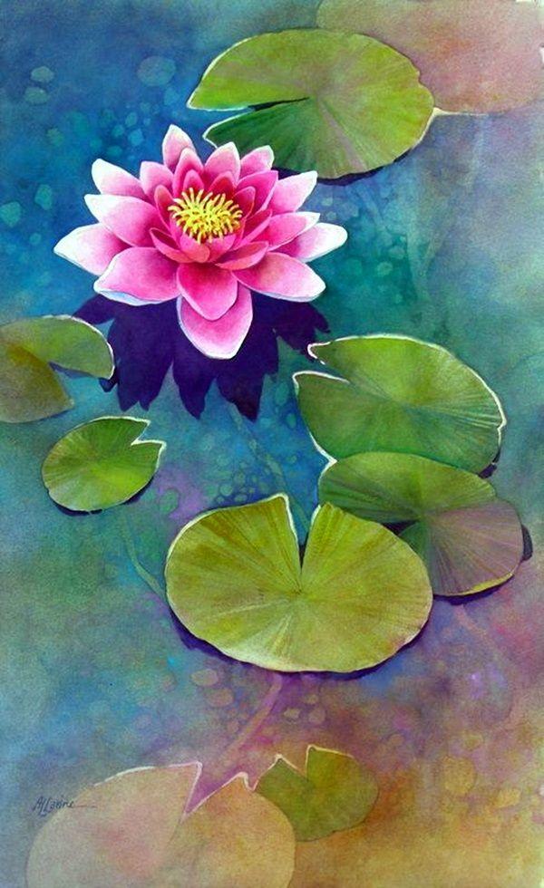 Картина Идеи Спокойный Цветок лотоса (22)