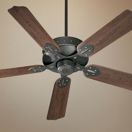 "52"" Quorum Hudson Old World Patio Ceiling Fan"
