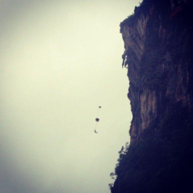 Thailand Beach Climbing