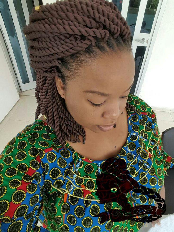 Georgeous Crochet braids with brazilian wool #NiniceBraids ...