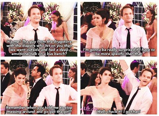 Yes Barney, you will always have Robin. No one deserves her better than you♥