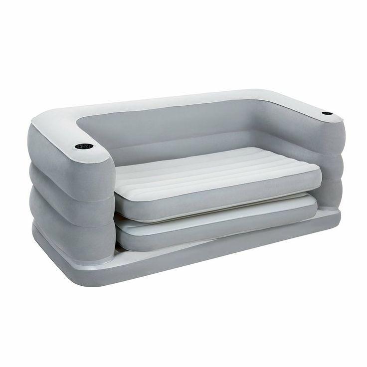 Sofá-cama hinchable doble Bestway 200x160x64cm