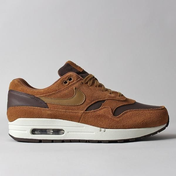 Nike Air Max 1 Premium LTR Shoes - Ale Brown/Ale Brown/Sail/Golden Beige – Urban Industry