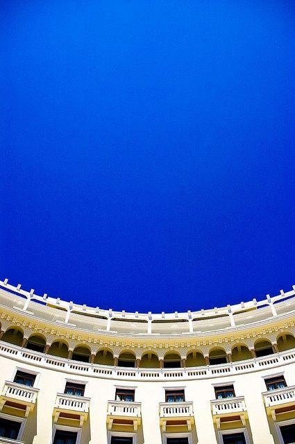 thessaloniki greece | Blue curve - The Electra Palace Hotel, Thessaloniki, #Greece