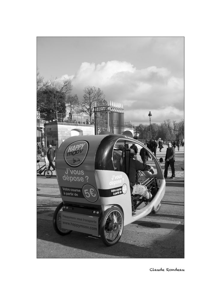 Paris, vélo taxi