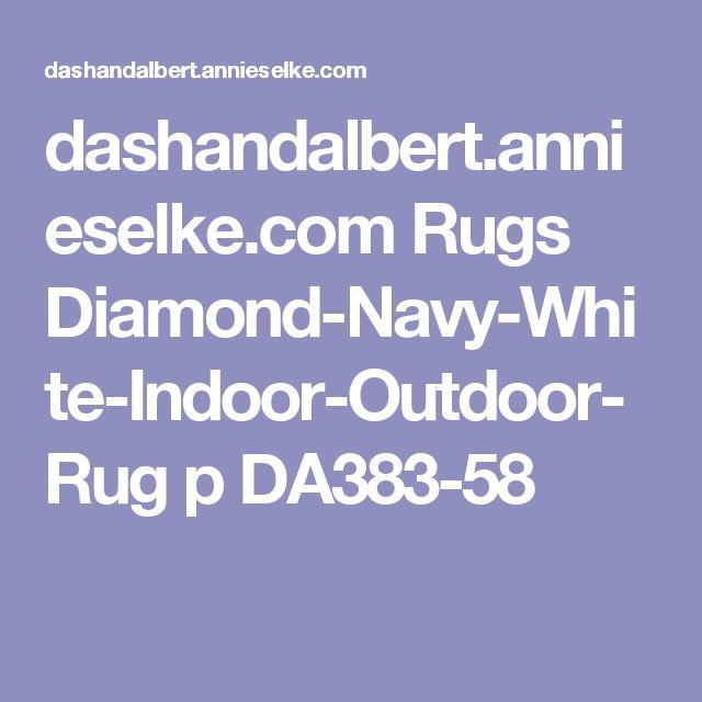 Diamond Navy White Indoor Outdoor Rug Dash Albert Outdoor Rugs Indoor Outdoor Rugs Cotton Rug