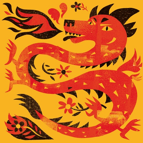 chinese new year : dragon