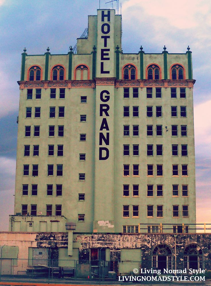 Abandoned Hotel Grand Lake Wales Fl It Looks Like Was Quite The Place Back In Day Nomad Pinterest And
