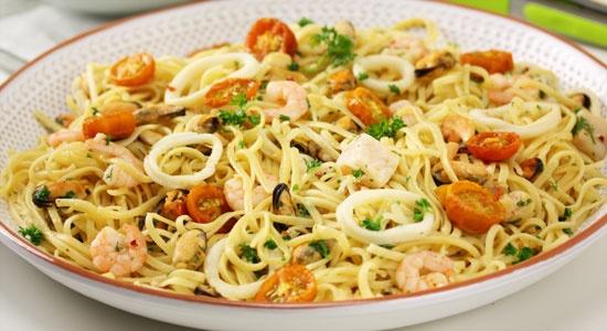 Chilli Marinara Linguine Recipe - weightloss.com.au