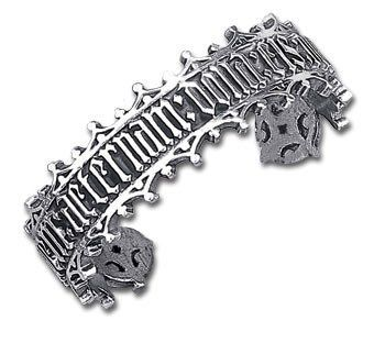 Large Requiem Aeternam Alchemy Gothic Bracelet Alchemy of England. $64.00. comes gift boxed, ships immediately. authentic Alchemy Gothic design of lead-free fine English pewter. lifetime warranty, satisfaction guaranteed