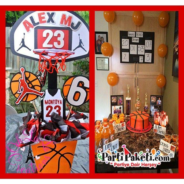 Küçük dev adamlar için en güzel basketbol temalı doğum günü partileri için partipaketi.com adresimizi tıklamanız yeter. #PartiPaketi #PartiMalzemeleri #PartiÜrünleri #Erkekçocukpartitemaları #erkekdoğumgünü #çocukpartisi #kidsparty #instaparty #boysparty #boyspartyideas #erkekçocukdoğumgünü #erkekçocukpartifikirleri #boysbirthdayparty #erkekdoğungünüsüsleri #partyboy #birthdayparty #basketbol #basketball