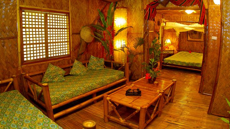 Bamboo House In The Philippines Bahay Kubo Our Native