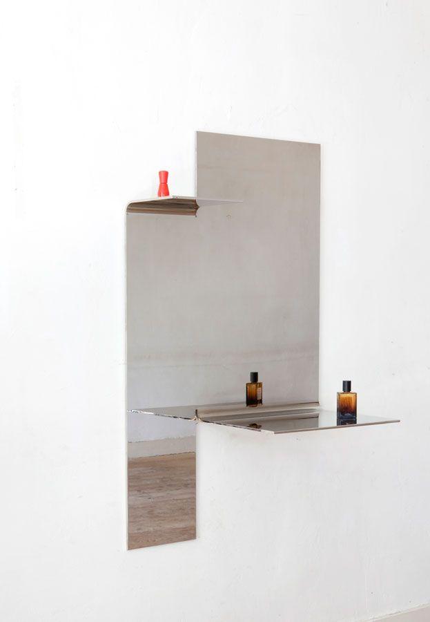 bended mirror #2, 2015   Muller Van Severen