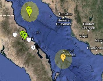 Para el Registro: 3 sismos en el Mar de Cortés