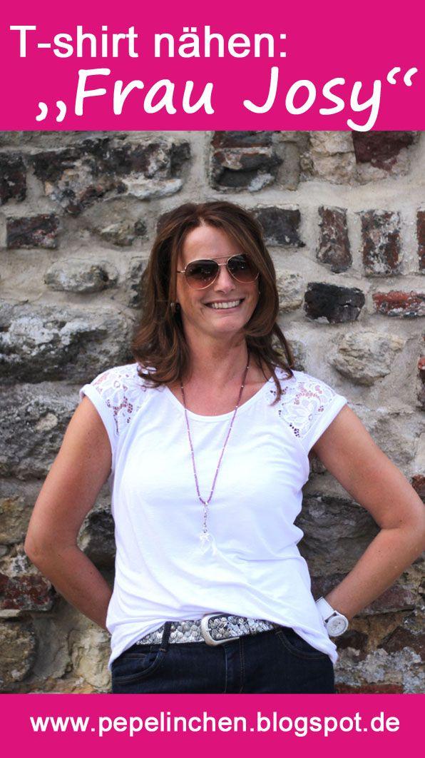 T-shirt Frau Josy - ein Schnittmuster, das sich so vielfältig gestalten lässt!