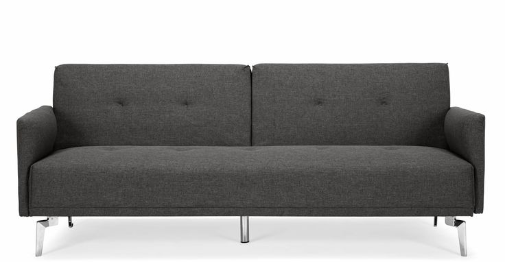 Make sure your home is always ready for guests with the Akio sofa bed in cygnet grey.